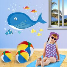 Really Big Whale Wall Decal Set
