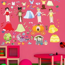 <strong>Mona Melisa Designs</strong> Peel and Play Princess Wall Decal