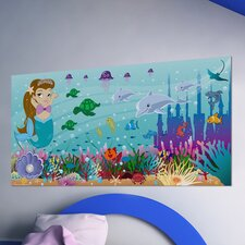 <strong>Mona Melisa Designs</strong> Mermaid Girl Wall Mural