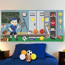 <strong>Mona Melisa Designs</strong> Sports Boy Wall Mural