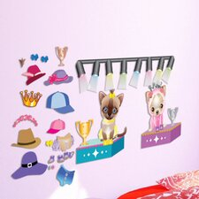 <strong>Mona Melisa Designs</strong> Peel and Play Pet Fashion Wall Decal