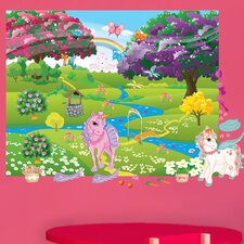 Peel and Play Pony Wall Decal