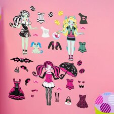 Peel and Play Monster Girls Wall Decal