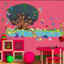 Peel and Play Fairy Garden Wall Decal