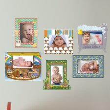 <strong>Mona Melisa Designs</strong> Peel and Stick Baby Frame Wall Decal