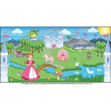 Princess Girl Wall Mural