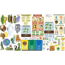 Peel, Play and Learn Environmental Science Wall Play Set