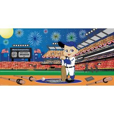 Baseball Boy Wall Mural