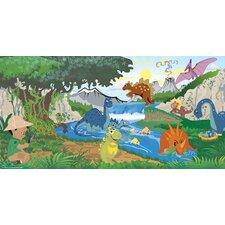 Dino Boy Wall Mural