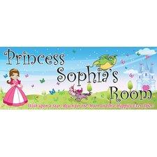 Princess Girl Name Wall Plaque