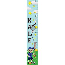<strong>Mona Melisa Designs</strong> Sports Boy Growth Chart