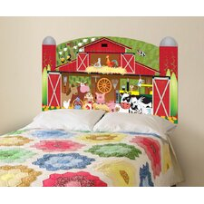 Peel and Stick Farm Panel Headboard