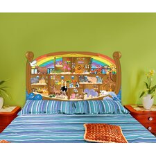 Peel and Stick Noah's Ark Panel Headboard