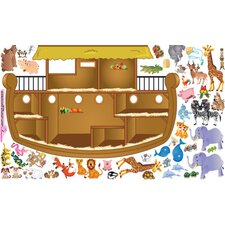 Peel and Play Noah's Ark Wall Decal Set