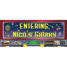 Space Name Wall Plaque