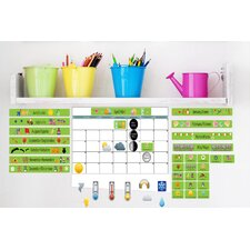 Peel and Learn Calendar Wall Decal