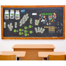 Peel and Learn Money Wall Decal