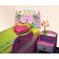 Peel and Stick Princess Panel Headboard