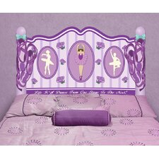 Peel and Stick Ballerina Panel Headboard