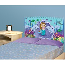 Peel and Stick Mermaid Panel Headboard