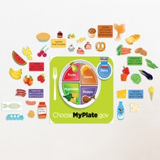 Peel and Learn Food Groups Wall Decal