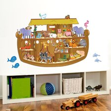 Peel and Play Noah's Ark Wall Stickers