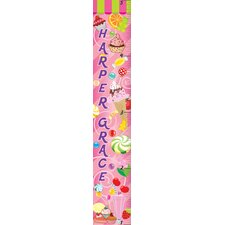 Sweetshop Personalized Growth Chart