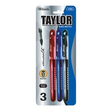 <strong>Bazic</strong> Taylor Rollerball Pen (Set of 3)