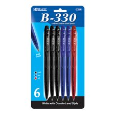 B-330 Retractable Pen (Set of 6)