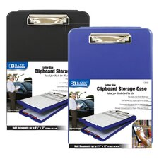 <strong>Bazic</strong> Clipboard Storage Case (Set of 12)