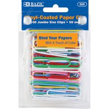Jumbo (50mm) Paper Clips Set