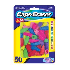 Eraser Top (Set of 50)