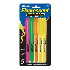Pen Style Fluorescent Highlighter