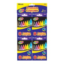Premium Quality Crayon (Set of 4)