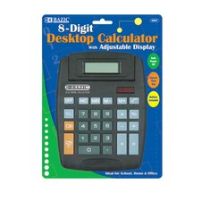 8-Digit Large Desktop Calculator (Set of 48)