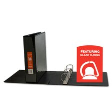 Slant-D Ring View Binder