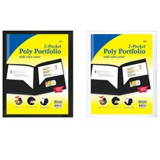 2-Pockets Poly Portfolio