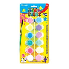 12 Color Kid's Paint Set