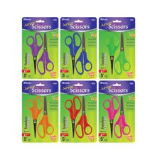 "5"" Blunt And Pointed Tip School Scissors (Set of 2)"