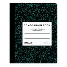 <strong>Bazic</strong> Quad-Ruled Marble Composition Book (Set of 48)
