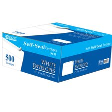 500 Ct. Self-Seal Envelopes (Set of 5)
