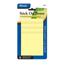 Stick On Notes (Set of 4)