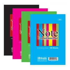 <strong>Bazic</strong> Colored Note Pads (Set of 48)