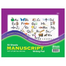 Manuscript Writing Pad (Set of 48)