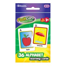 Alphabet Preschool Flash Cards