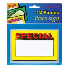 12 Ct. Special Price Sign (Set of 24)