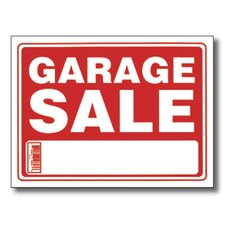 Garage Sale Sign (Set of 24)