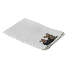 Pets Yorkies Hand Towel (Set of 2)