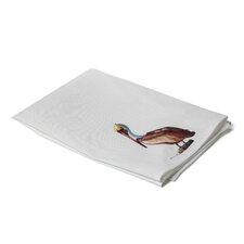 Coastal Sitting Pelican Hand Towel (Set of 2)