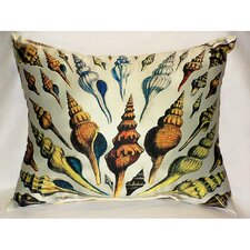 <strong>Betsy Drake Interiors</strong> Multi - Shells Print Pillow